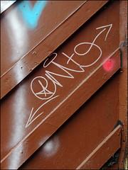 Onit (Alex Ellison) Tags: urban graffiti boobs tag graff eastlondon onit