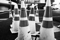Safety Cones (Tony Rowlett) Tags: streetphotography tony rowlett tonyrowlett