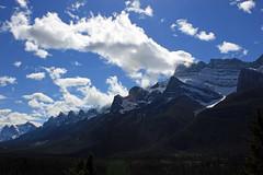 Mountains Meet Clouds (JB by the Sea) Tags: canada rockies alberta banff rockymountains transcanadahighway banffnationalpark canadianrockies september2014