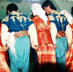Urgup, Turkey 1990 - Dancing Tights (ramalama_22) Tags: turkey dance costume dancers pants folk border crotch tights wear nightclub syria everyday knee ankle 1990 baggy urgup