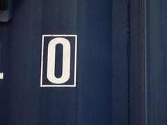 0 zero framed (Eva the Weaver) Tags: framed number container zero 00 0frame