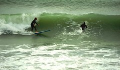 Surfers -The game on waves for ten seconds