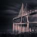 good giants take you across the river ( #Portugal #Lisbon #ponteVascoGama )