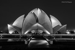 Lotus Temple (Ashmalikphotography) Tags: contrast blackwhite delhi ngc dig lotustemple incredibleindia canon600d