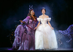 Kecia Lewis and Paige Faure in Rodgers + Hammerstein's Cinderella presented by Broadway Sacramento at the Sacramento Community Center Theater May 12 – 17, 2015. Photo by Carol Rosegg.