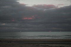 On this day in 2012 (Jean I Cresol) Tags: november autumn sea usa seascape beach water clouds boats virginia va virginiabeach 3rd eastcoast 2012