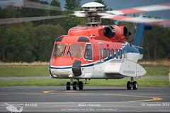 CHC - LN-OQE - Sikorsky S-92 (Aviation & Maritime) Tags: norway helicopter bergen chc sikorsky flesland helikopter bgo s92 enbr sikorskys92a chchelikopterservice bergenlufthavnflesland helikopterservice lnoqe bergenairportflesland