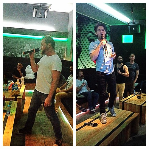 Our band room @ The Foundry, Jakarta had built in Karaoke. Fun times!!!