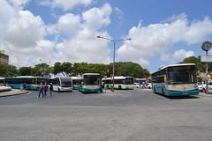 Valletta Bus Station - June 2015 (Will Swain) Tags: travel bus buses station june island town mediterranean transport malta 20th valletta arriva 2015
