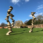 Amazing sculpture by Tony Cragg #tonycragg #yorkshiresculpturepark @yspsculpture