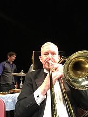 Kiddie concert number one.   Columbia Orchestra. (sacqueboutier) Tags: trombone selfie firebird orchestra balet ballet stravinsky classical music classicalmusic tuxedo concert prokofiev harrypotter