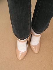 Nude mary jane heels from New Look (clared02) Tags: heels maryjanes nudeheels buckle