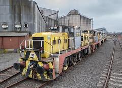 Scrap Line (Dave McDigital) Tags: yorkshireengine janus applebyfrodingham industrialrailway industriallocomotive scunthorpe steelworks britishsteel