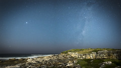 Night time (Timothy M Roberts) Tags: maroubra sydney astrophotography australia ocean coast pacific nikkor