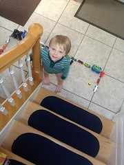 """Paul Lines Up His Cars at the Bottom of the Stairs • <a style=""""font-size:0.8em;"""" href=""""http://www.flickr.com/photos/109120354@N07/32987251591/"""" target=""""_blank"""">View on Flickr</a>"""