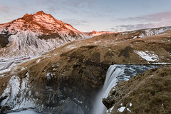 Skógafoss (_carlosRP) Tags: waterfall skogafoss iceland thisisiceland sunrise pov landscape capturelandscapes landscapephotography longexposure nature mountains reallyrightstuff