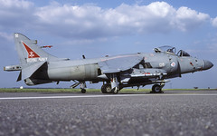 SEAHARRIER FRS2 ZH803 R128 800sqn CL No.0000606 P (Chris Lofting) Tags: harrier zh803 r123 800 egxj cottesmore faa royalnavy seaharrier