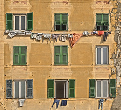 camogli windows (poludziber1) Tags: city colorful cityscape color colorfull street streetphotography travel italia italy light window liguria urban green orange old challengeyouwinner cyunanimous
