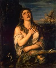 Marie-Madeleine repentante (Titien) (photopoésie) Tags: titien 1540 saintpétersbourg