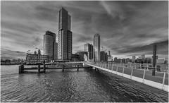 Rijnhavenbrug (Rens Timmermans) Tags: canon5dmk3 sigma1224f4556dg architectuur bruggen blackwhite rotterdam havens niksilverefexpro nationalgeographic