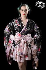 Geisha (Santi BF) Tags: geisha sesión estudio studio lighting iluminación vestido dress maquillaje makeup recmakeup