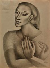 Untitled (1929) - José de Almada Negreiros (1893-19170)
