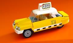 Taxi (OutBricks) Tags: lego afol 6wide minifigscale cab newyork