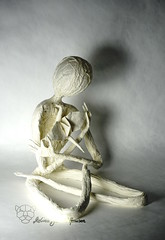 The Artist (Yureiko) Tags: yureiko tessellation papierfalten papier art kunst origami paperfolding paper 折り紙 おりがみ shiborigami