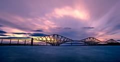 DSC_7172 (peterbaird100) Tags: forth railway bridge sunset