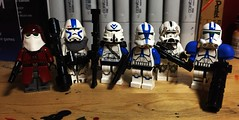 Battlefront II (LordAllo) Tags: lego star wars battlefront 2 clone trooper republic 501st commander heavy sniper infantry engineer jump arealight