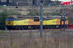 56087 and 56078 - Doncaster Yards - 23-03-17 (techno-phobe) Tags: doncaster class56 colas colasrailfreight colasrail grid 56078 56087