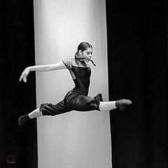 Giada (fabio6065) Tags: danza dance dancer ballerina balletto ballet bn bw blackwhite fly lightness