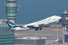 B-LIA Cathay Pacific 747-467ERF (ColinParker777) Tags: cathay pacific cx cpa vhhh hkg airlines airways ltd chek lap kok hong kong airport takeoff boeing 747 744 747f 747400f 747400erf 744erf jumbo freighter freight rubber dogshit sunny sea atc tower control plane airplane aircraft gear engines flying flight fly jumbojet canon photo photography 7d 7d2 7dii 7dmkii 7dmk2 200400 zoom telephoto lens pro l aviation spotting spotters