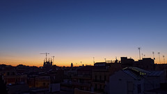 Barcelona at dawn (Bart K. Prins) Tags: panasonic lumix dmclx7 barcelona