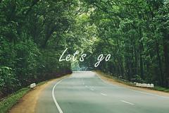 Lets go (Juavenita ♥) Tags: srilanka lanka trees road travel path adventure habarana wanderlust
