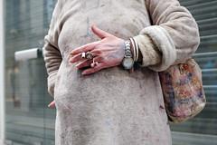 sa main gauche. (yaya13baut) Tags: hand hands main woman femme clothes street streettogs streetphotography streetphoto streetphotographers streetphotographer crop frame cigarette bag candid fujifilm fuji fujix100s fujifilmx100s fujifilmfrance fujifilmxseries