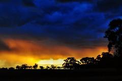 the Night was Dark and Stormy (holly hop) Tags: drama australia emu nature rain rainclouds sky sliderssunday storm stormclouds sundown sunset myplace 100xthe2017edition wow mammatus abctvweather centralvictoria