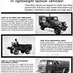1961 Willys Jeep Military Vehicles thumbnail