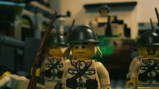 Lego WWII Japanese Troops