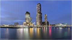 kop van Zuid Rotterdam 1 (Rens Timmermans) Tags: canon5dmk3 sigma1224f4556dg architectuur avondfotografie rotterdam nationalgeographic havens bruggen