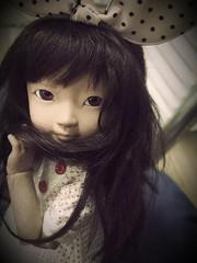 A shy girl Geuru. (harucasting) Tags: harucastinggeuru chatterbox bjd fox softtan adoribody infact charming yosd clever