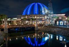 The Observatory (mwjw) Tags: nikond810 mwjw markwalter disneysprings downtowndisney disneyworld orlando florida nightshot longexposure night nikon24120mm
