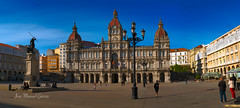 Plaza María Pita ( A Coruña ) (ЈΘŠΞПΔ72 ) Tags: acoruña españa europa fuji fujifilmx100f galicia josema72