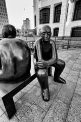 canary-wharf-statues-london (MKHardyPhotography) Tags: mkhardy london blackandwhite