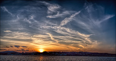 _MG_3202...    Angels Wings Among Us. (poppy998) Tags: hudsonvalley sunset hudsonriver clouds newburghny skyline