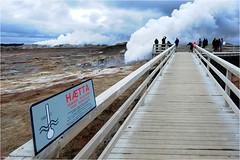 Iceland, Peninsula Reykjanes (Aad P.) Tags: iceland reykjanes photographerstrip holidays lava volcano volcanicactivity steam heat