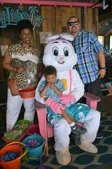 Kids Visit Easter Bunny at LuLu's 2017-2