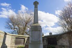 St. Andrews War Memorial (David_Leicafan) Tags: 24mmelmaritasph standrews sirrobertlorimer memorial cross tablet celticcross granite plinth