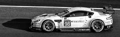 IMG_5979 (Bucky O'Hare) Tags: lemans 24heur 24 hour race le mans motoracing racing motor car cars automobile racecar racer aston martin astonmartin british sportscar monochrome mono bw black white