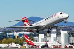 VH-YQX QF B717 35 YSCB-6700 (A u s s i e P o m m) Tags: canberra australiancapitalterritory australia au qantaslink qlk qantas qf boeing b717 cbr yscb canberrainternationalairport